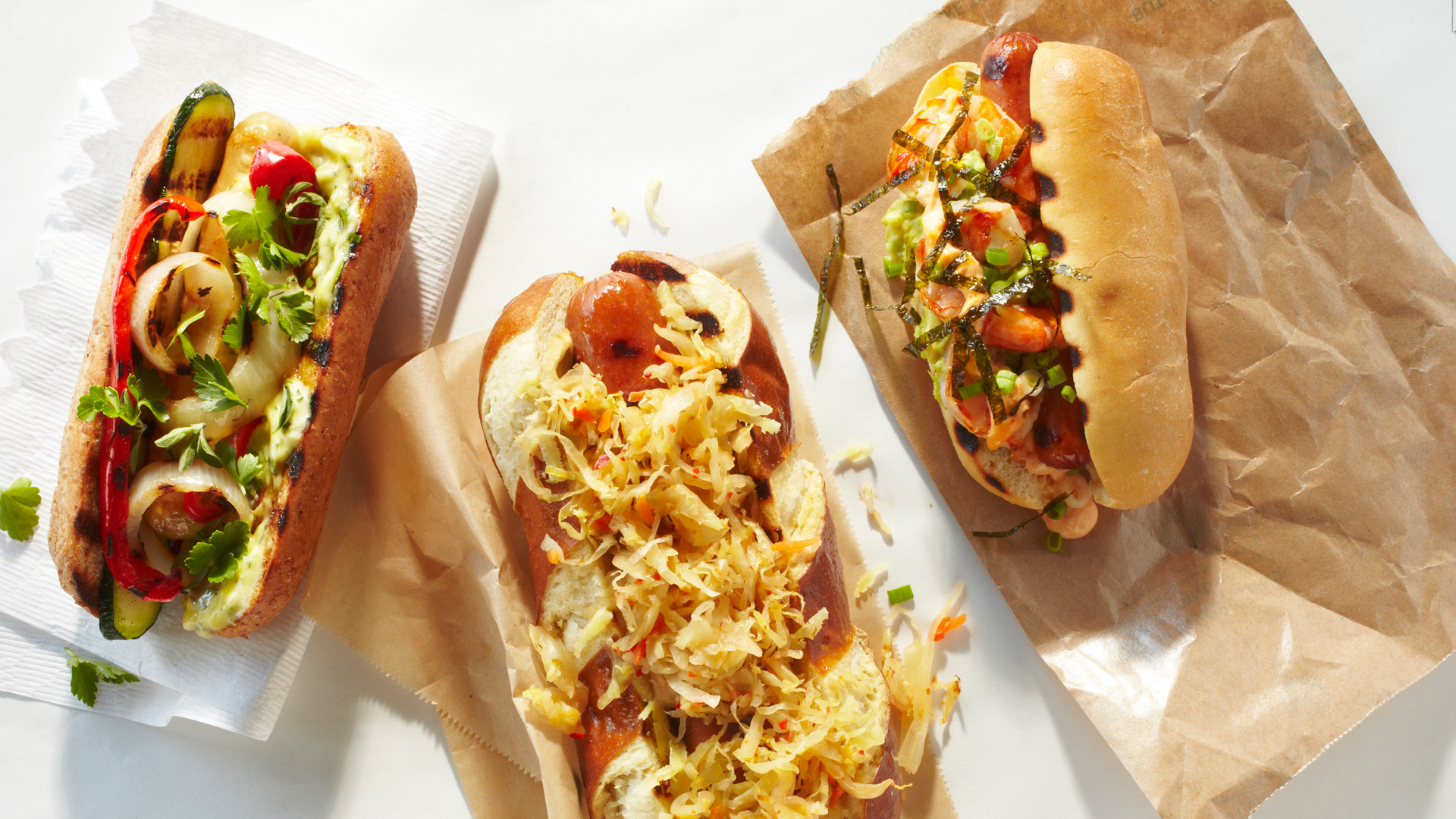 Fancy Hot Dogs Recipe — Dishmaps