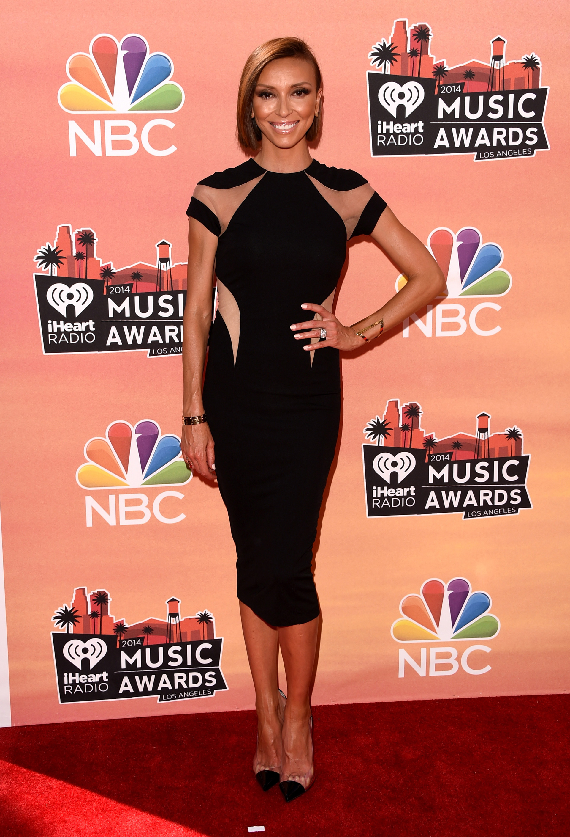 Giuliana Rancic at the 2014 iHeartRadio Music Awards
