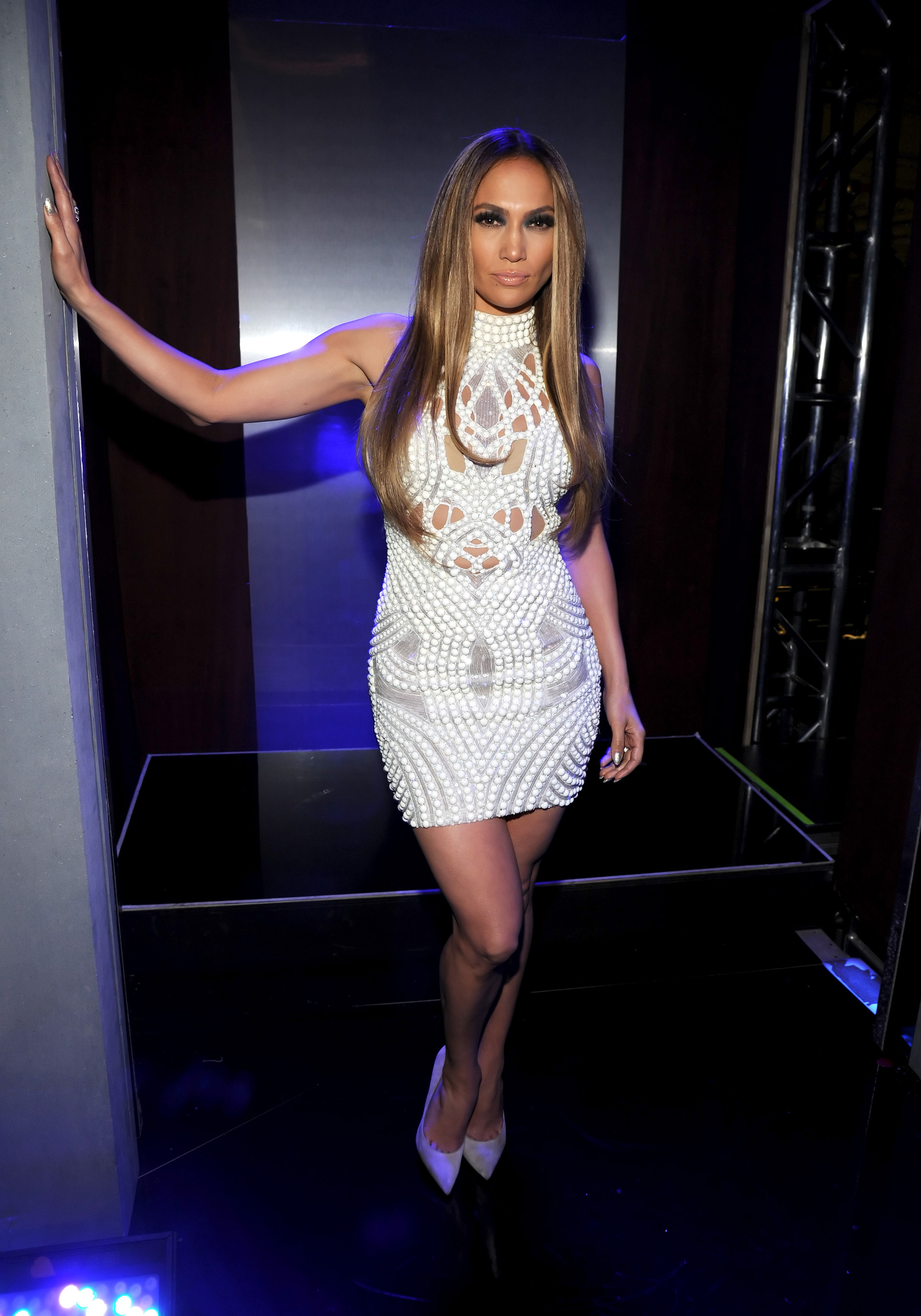 Jennifer Lopez at the 2014 iHeartRadio Music Awards