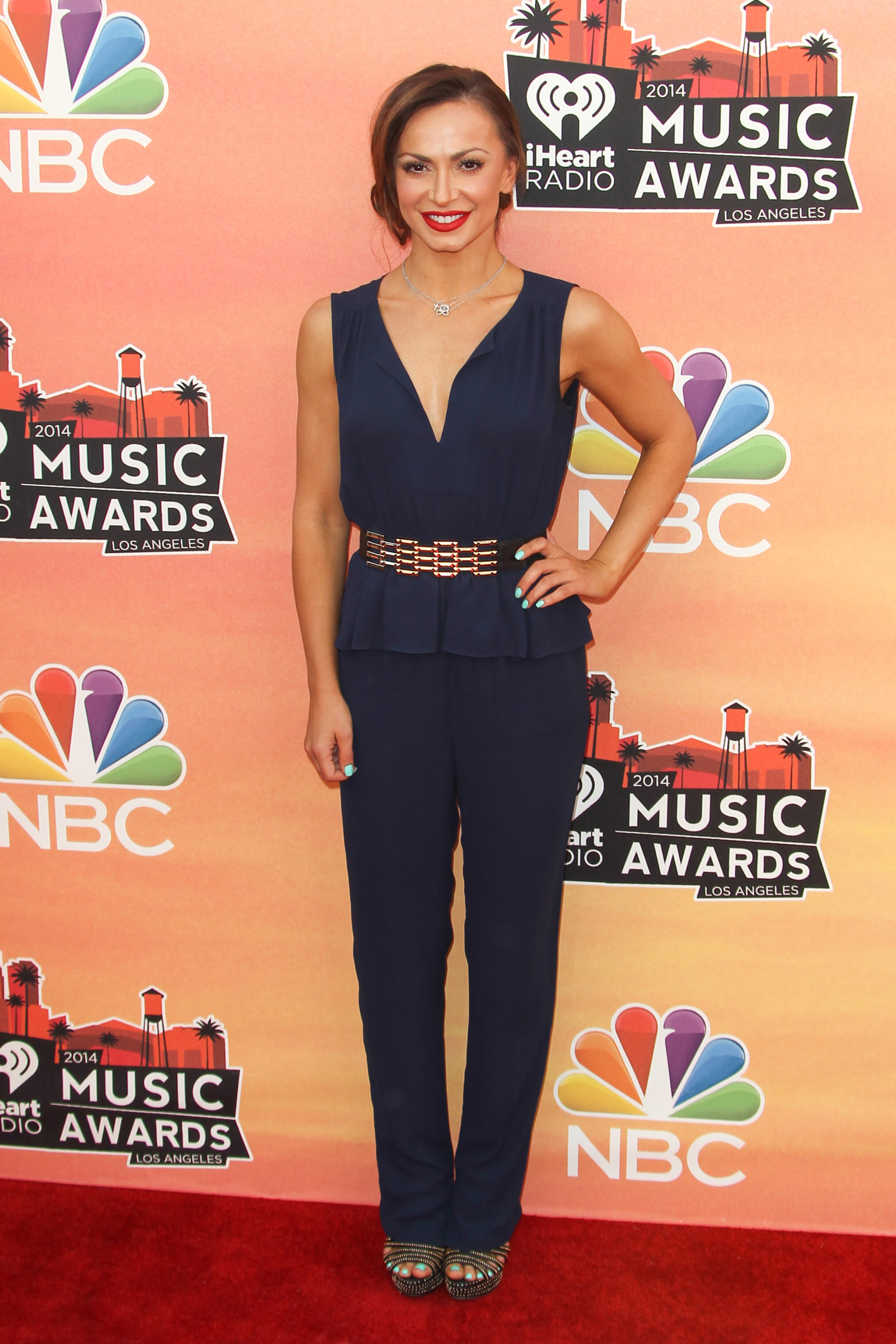Karina Smirnoff at the 2014 iHeartRadio Music Awards