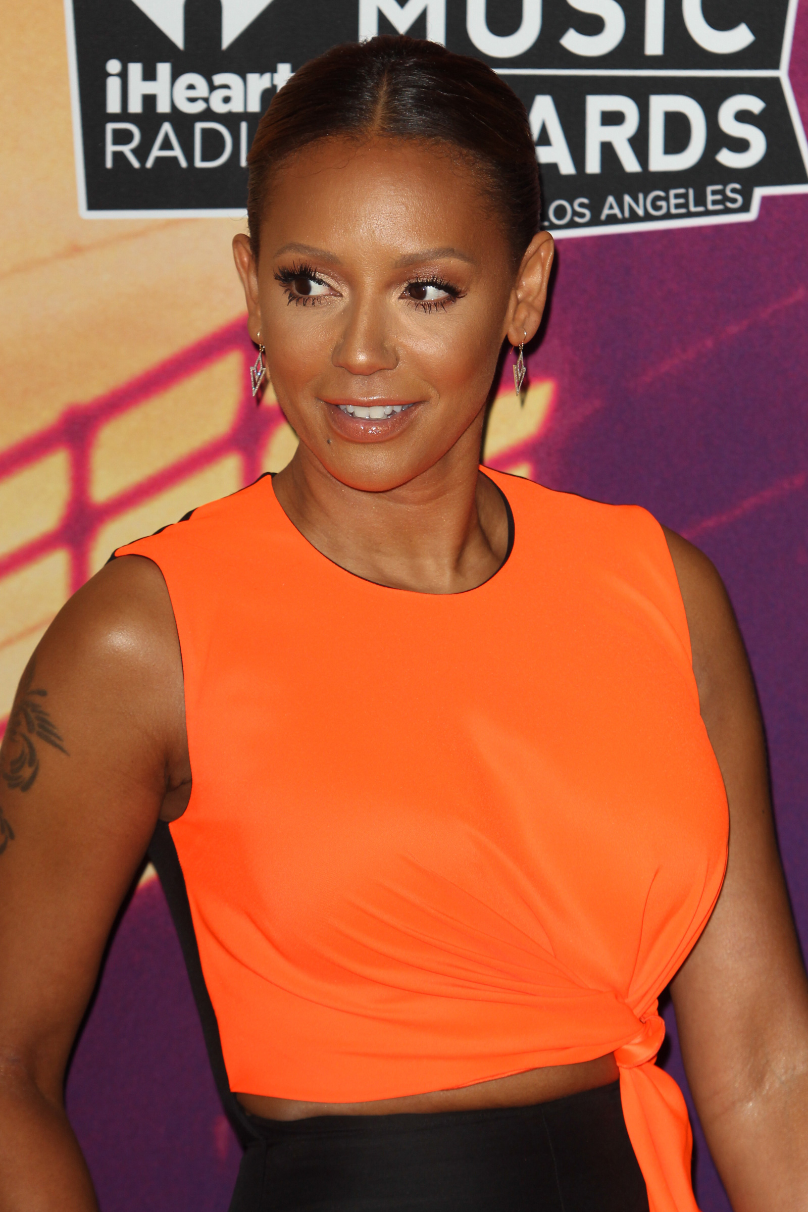 Mel B at the 2014 iHeartRadio Music Awards
