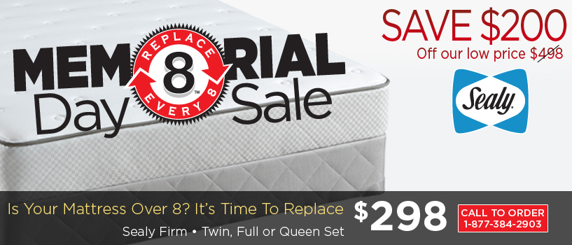 Mattress Firm's Memorial Day sale