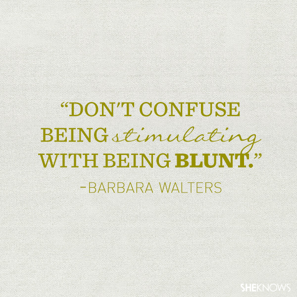 10 Inspirational quotes that prove Barbara Walters was a legacy