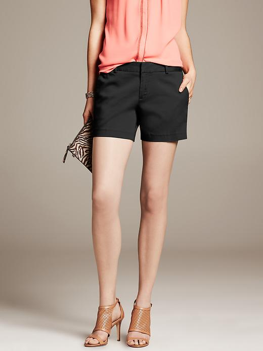 Shop the look: Banana Republic Sateen Short in Black (bananarepublic.gap.com, $50)