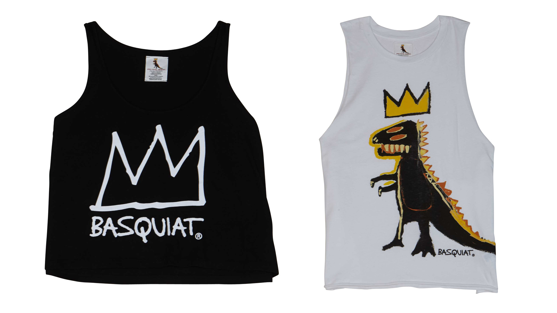 Forever 21: Jean-Michel Basquiat collection