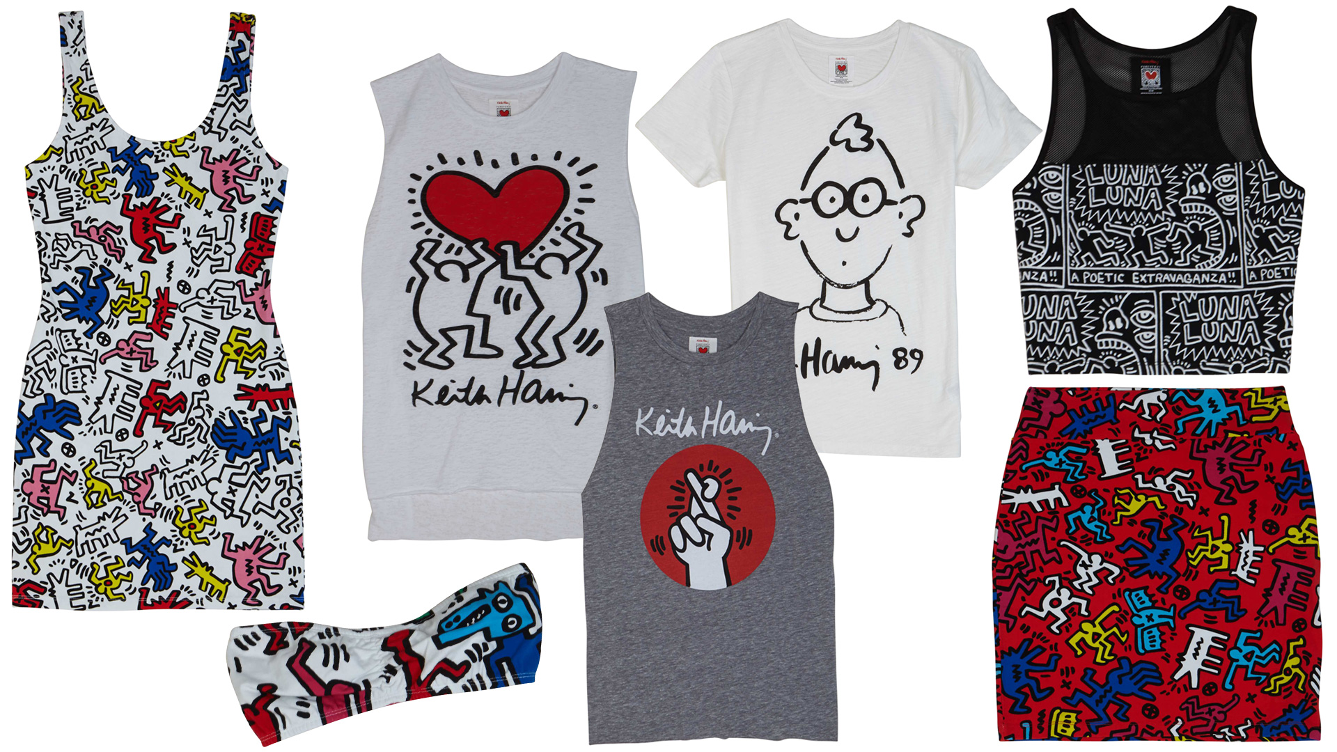 Forever 21: Keith Haring collection
