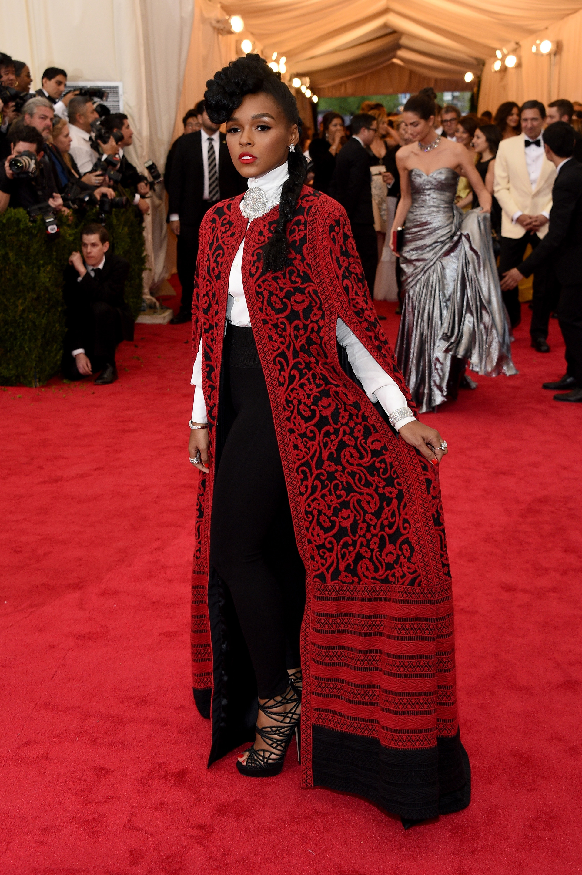 Janelle Monae at the 2014 Met Gala
