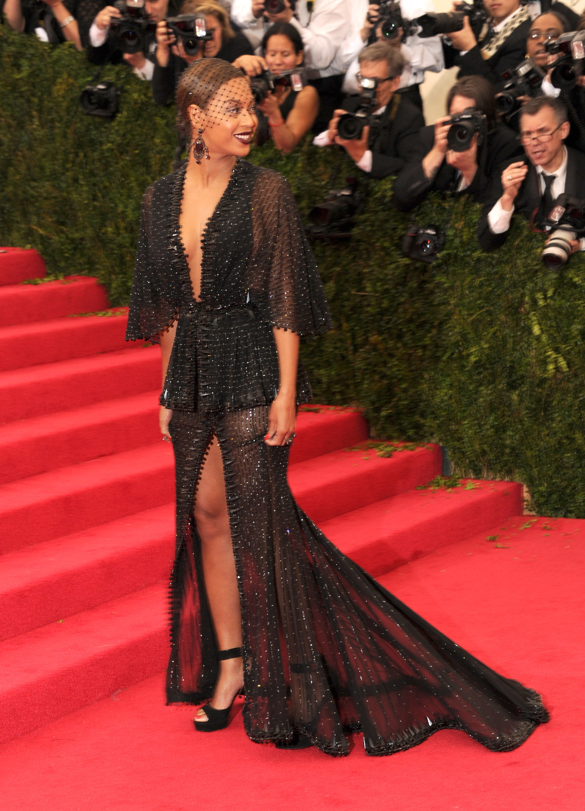 Beyonce at the 2014 Met Gala