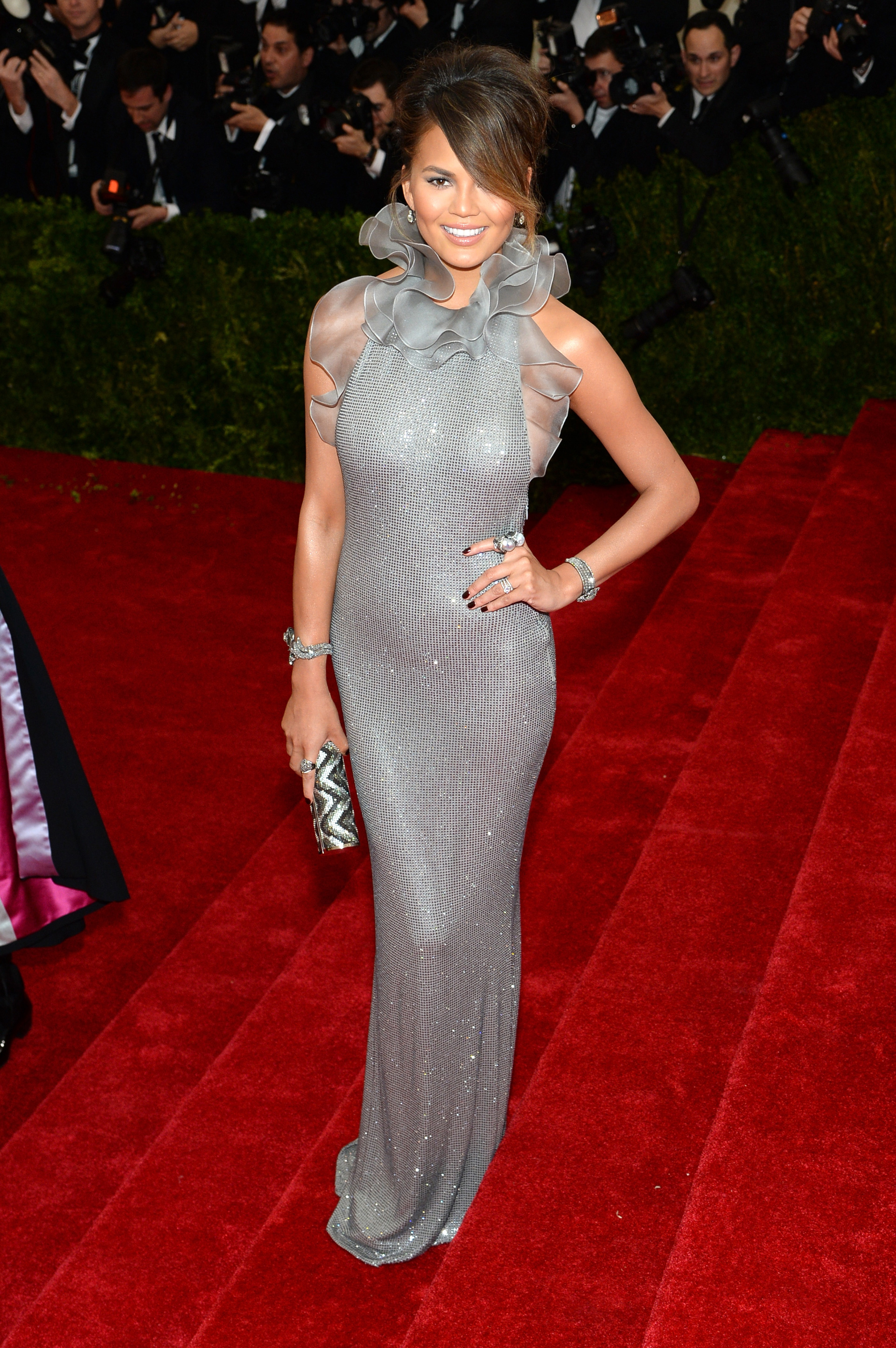 Chrissy Teigen at the 2014 Met Gala