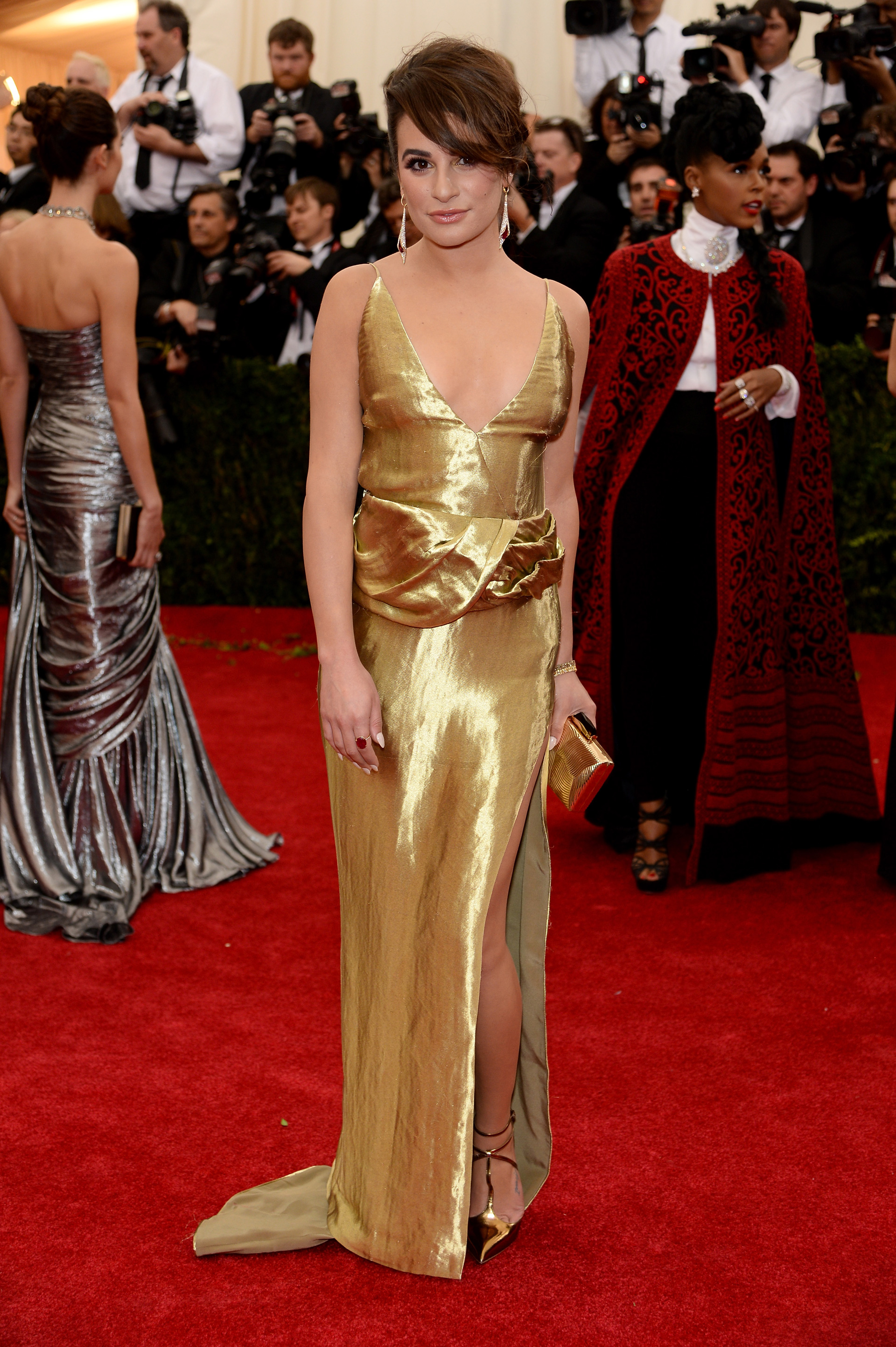 Lea Michele at the 2014 Met Gala