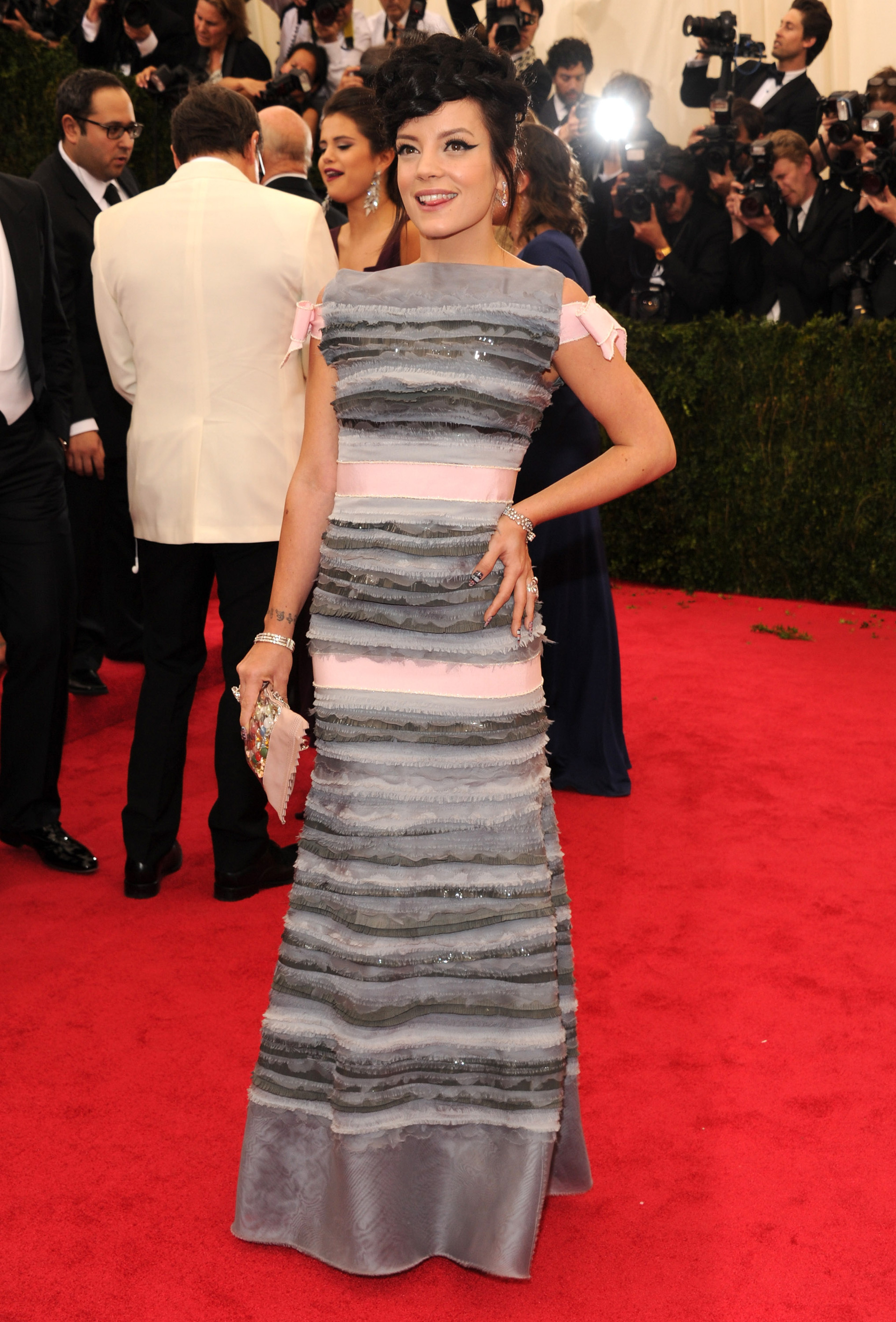 Lily Allen at the 2014 Met Gala