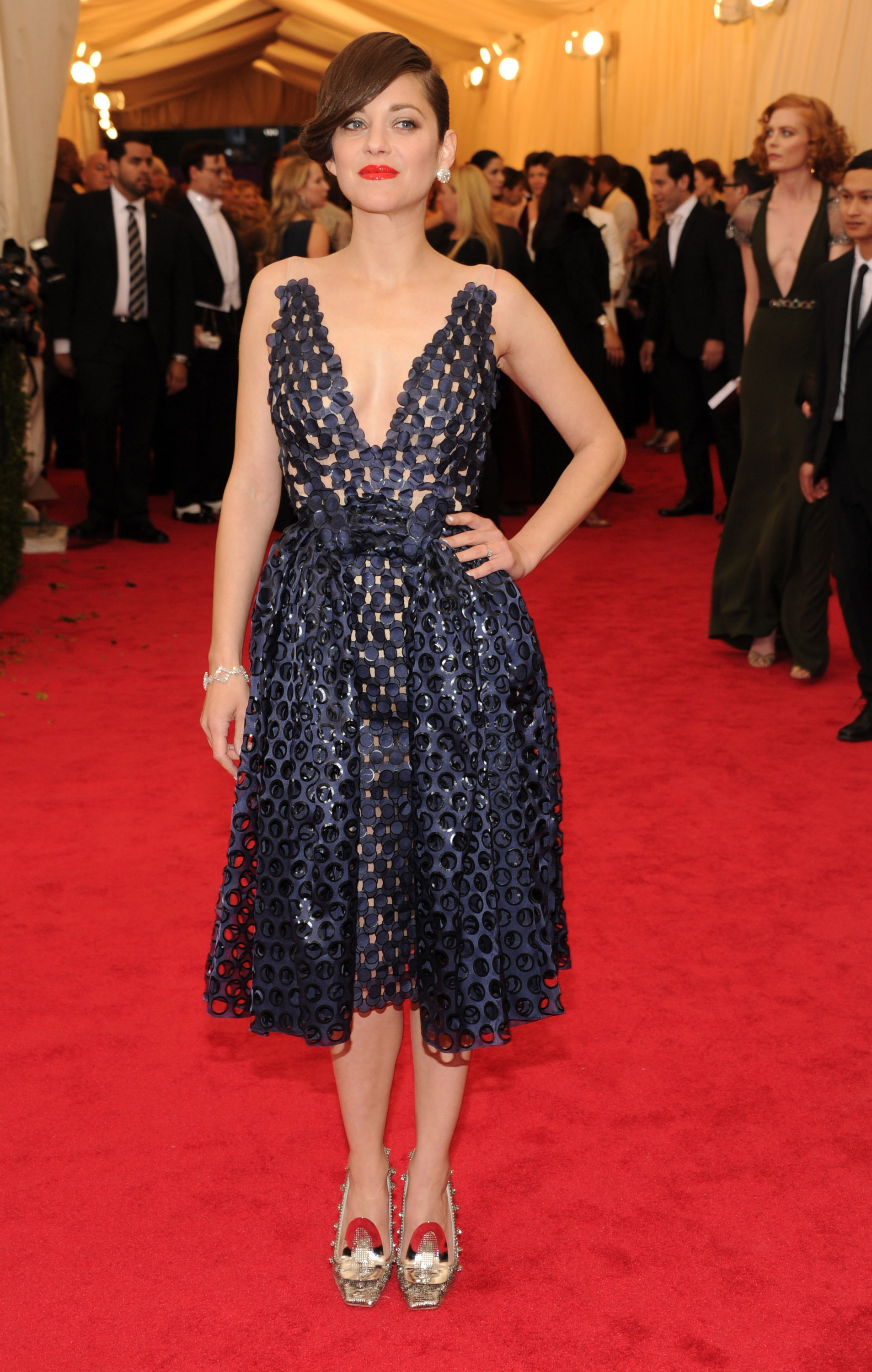 Marion Cottilard at the 2014 Met Gala