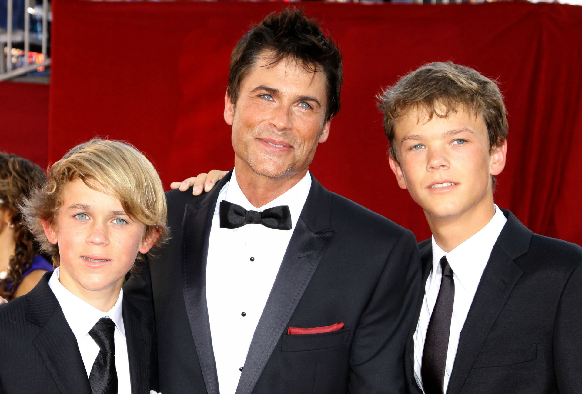 Rob Lowe was a big ol' crybaby when his son left the nest