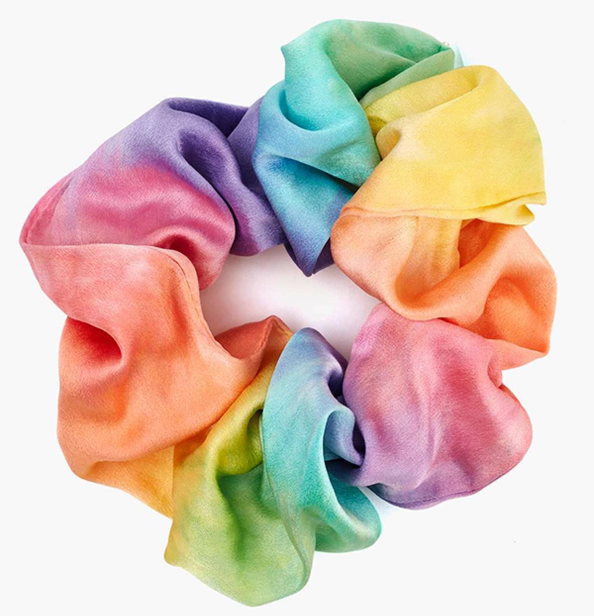 Tie Dye Silk Scrunchie (Nasty Gal, $18)