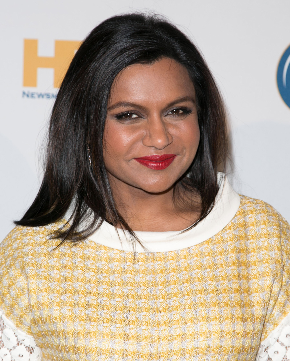 Best red lip: Mindy Kaling