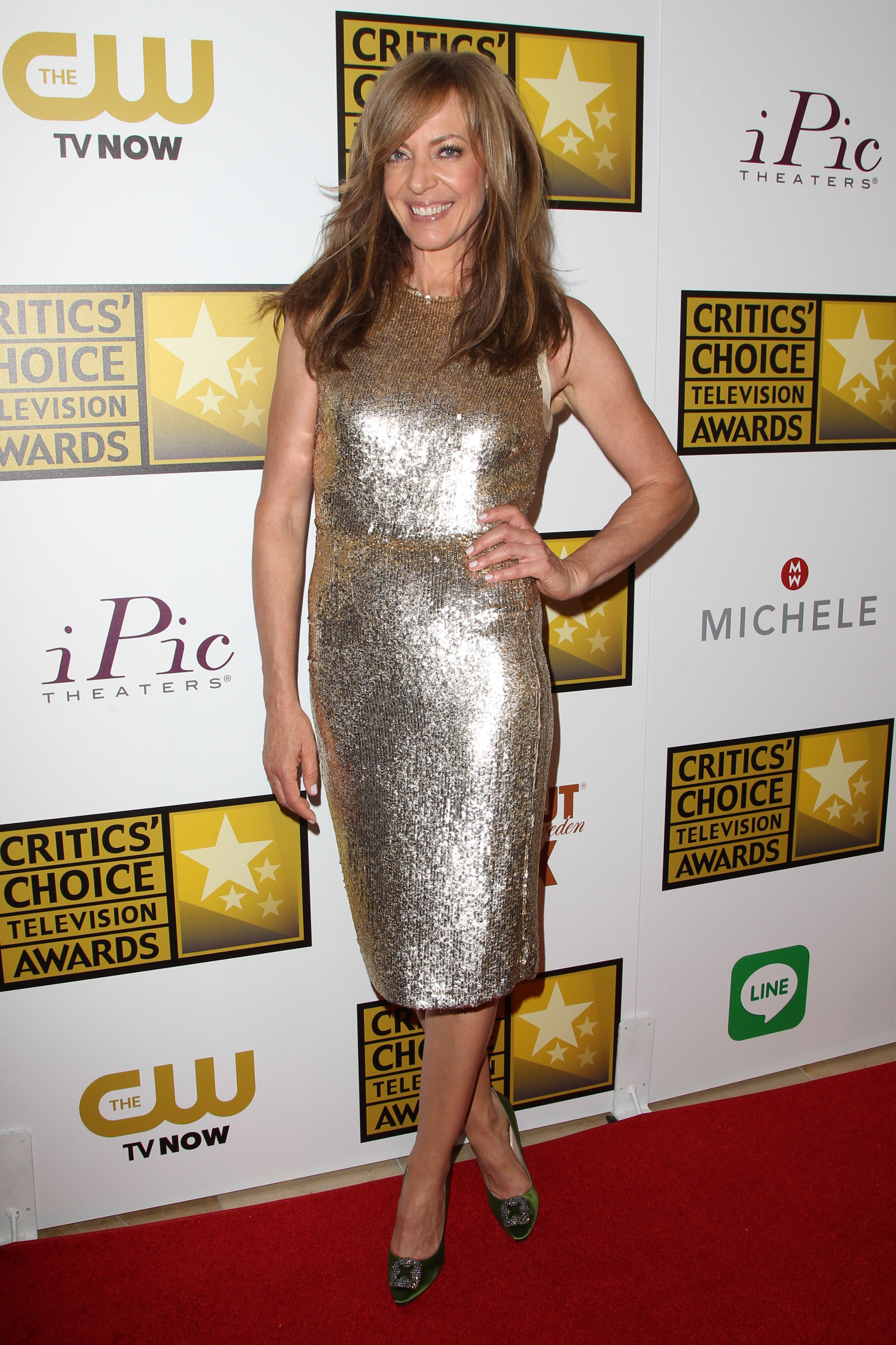 Allison Janney at the Critic's Choice Awards