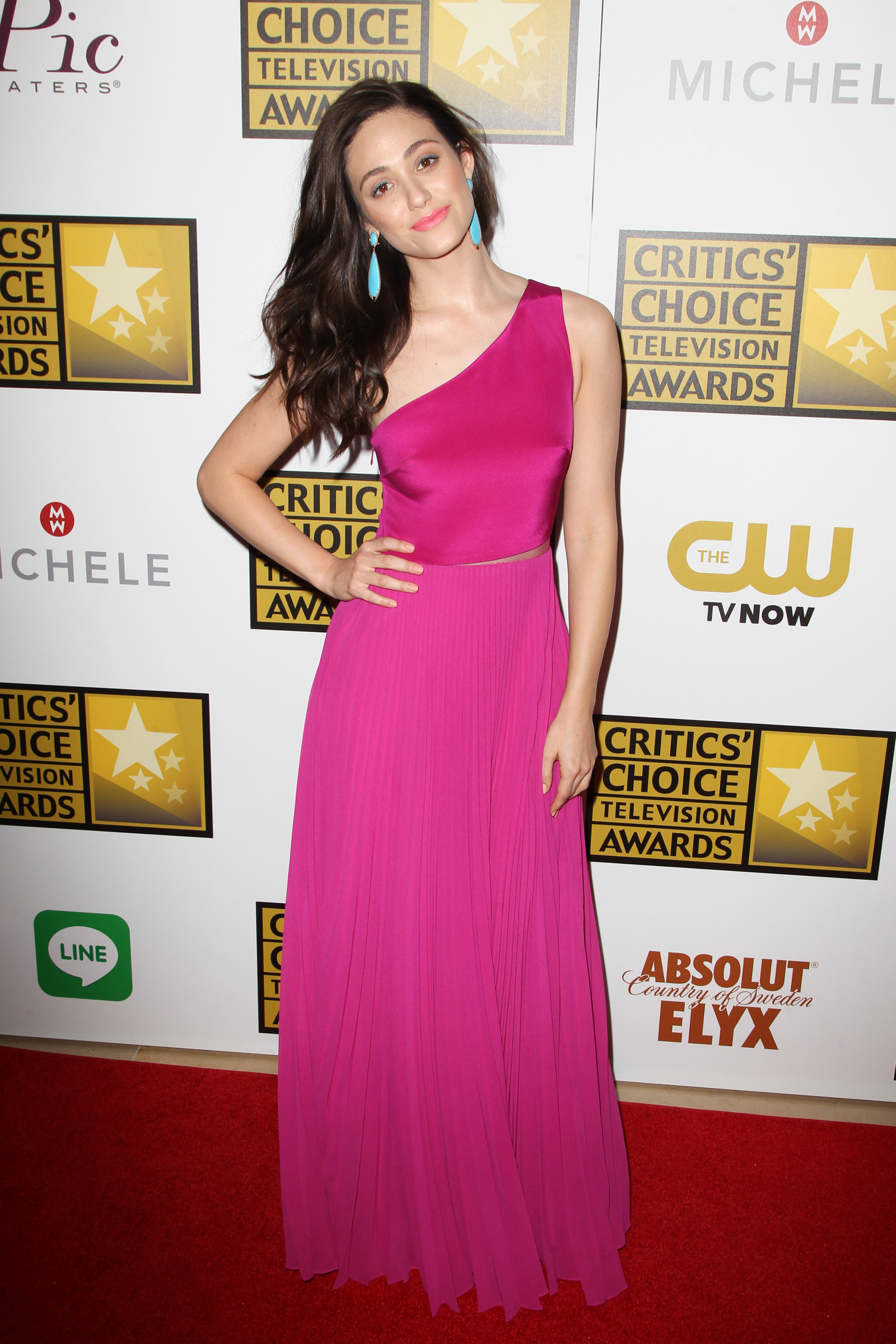 Emmy Rossum at the Critic's Choice Awards