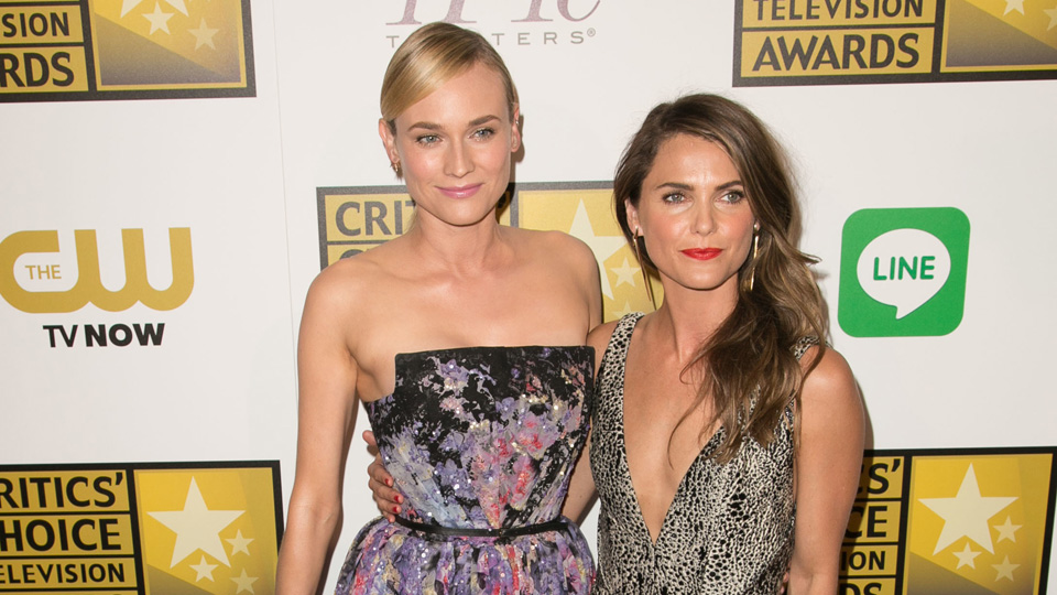 Diane Kruger and Keri Russell at the Critic's Choice Awards