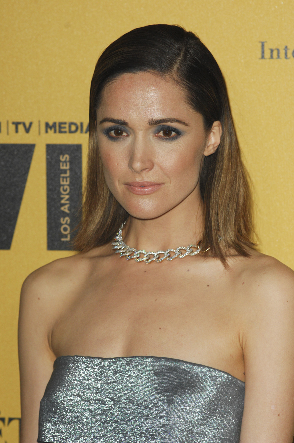 Best sleek hair: Rose Byrne