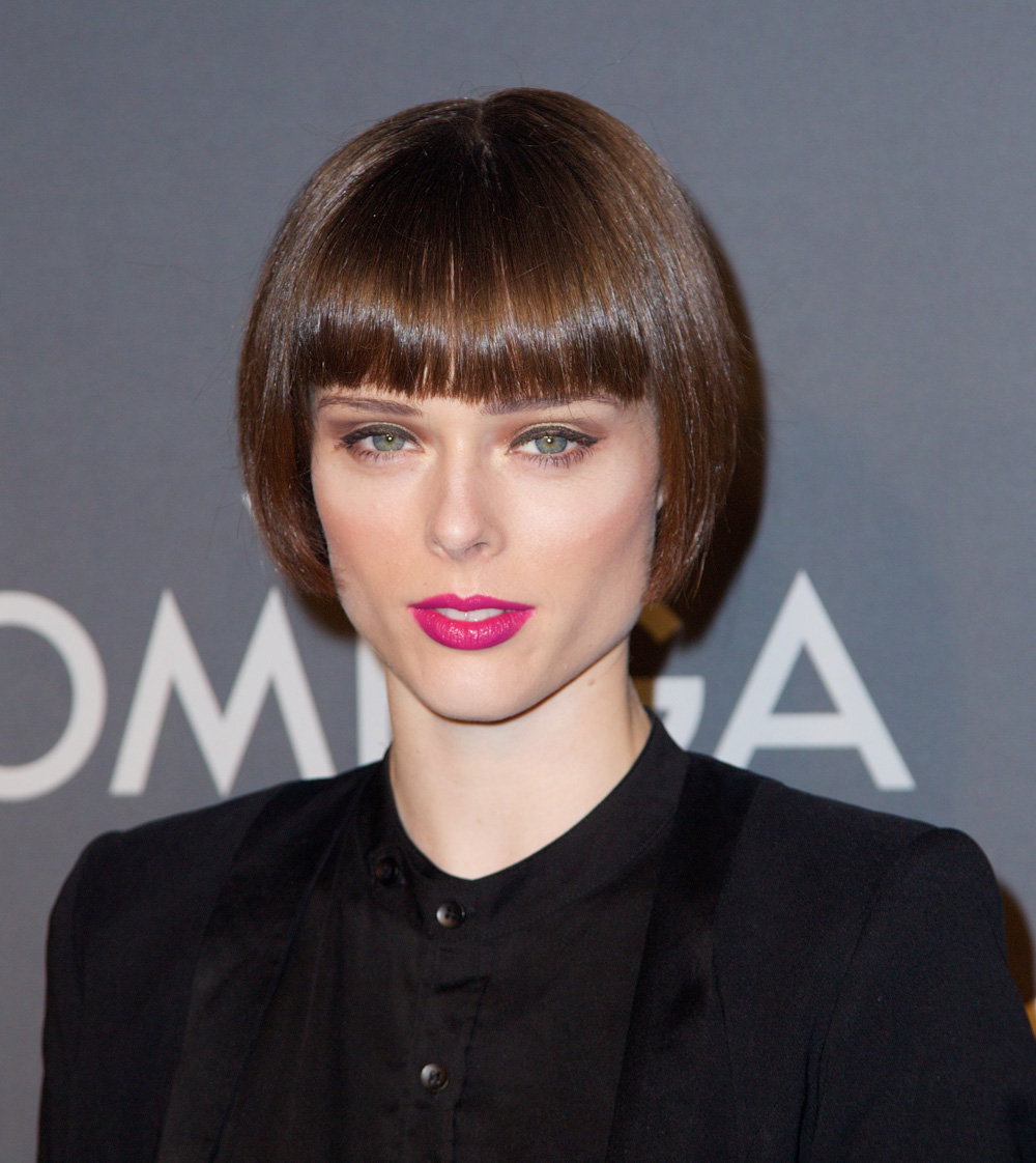 Best bangs: Coco Rocha