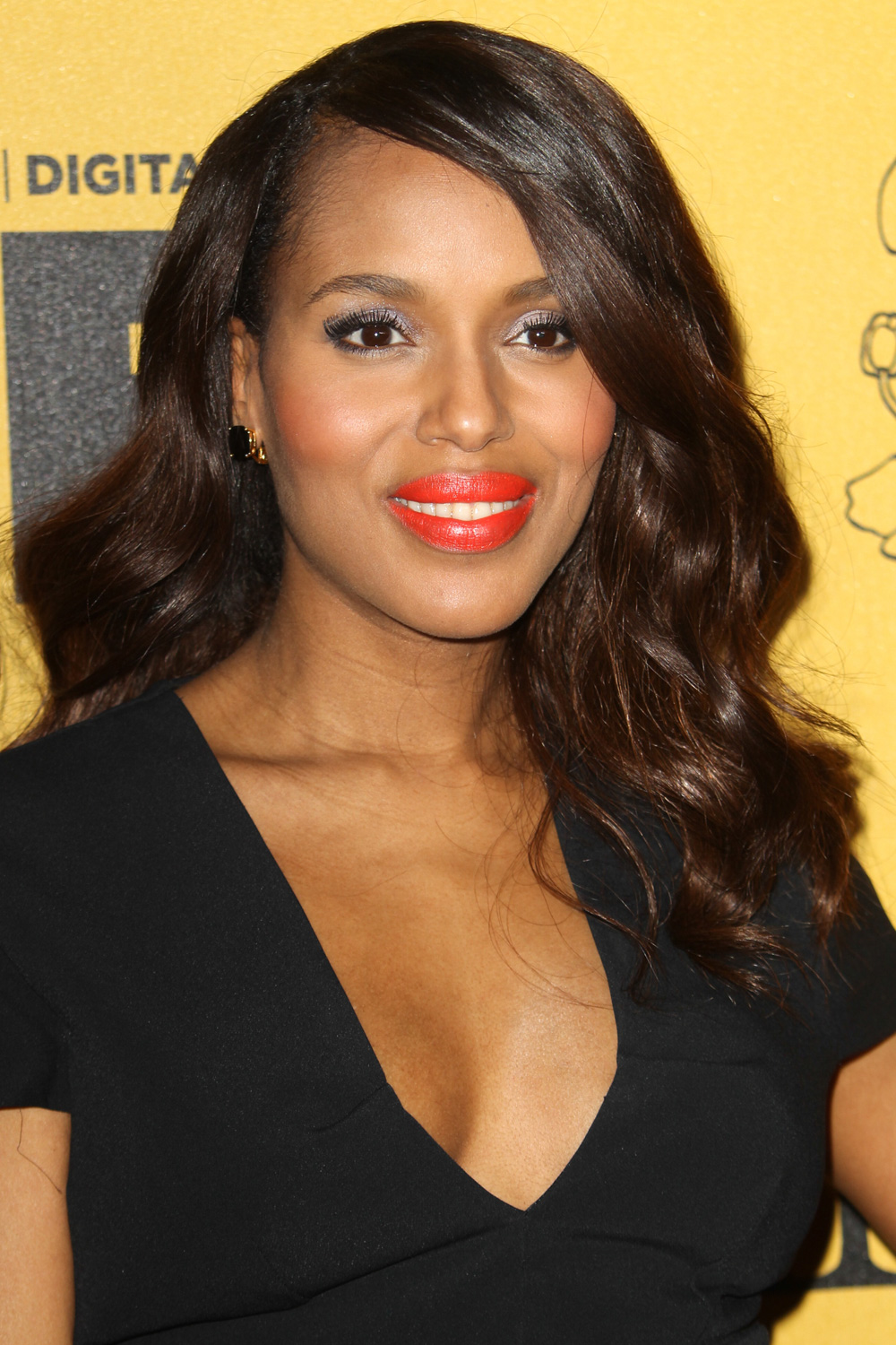 Best waves: Kerry Washington