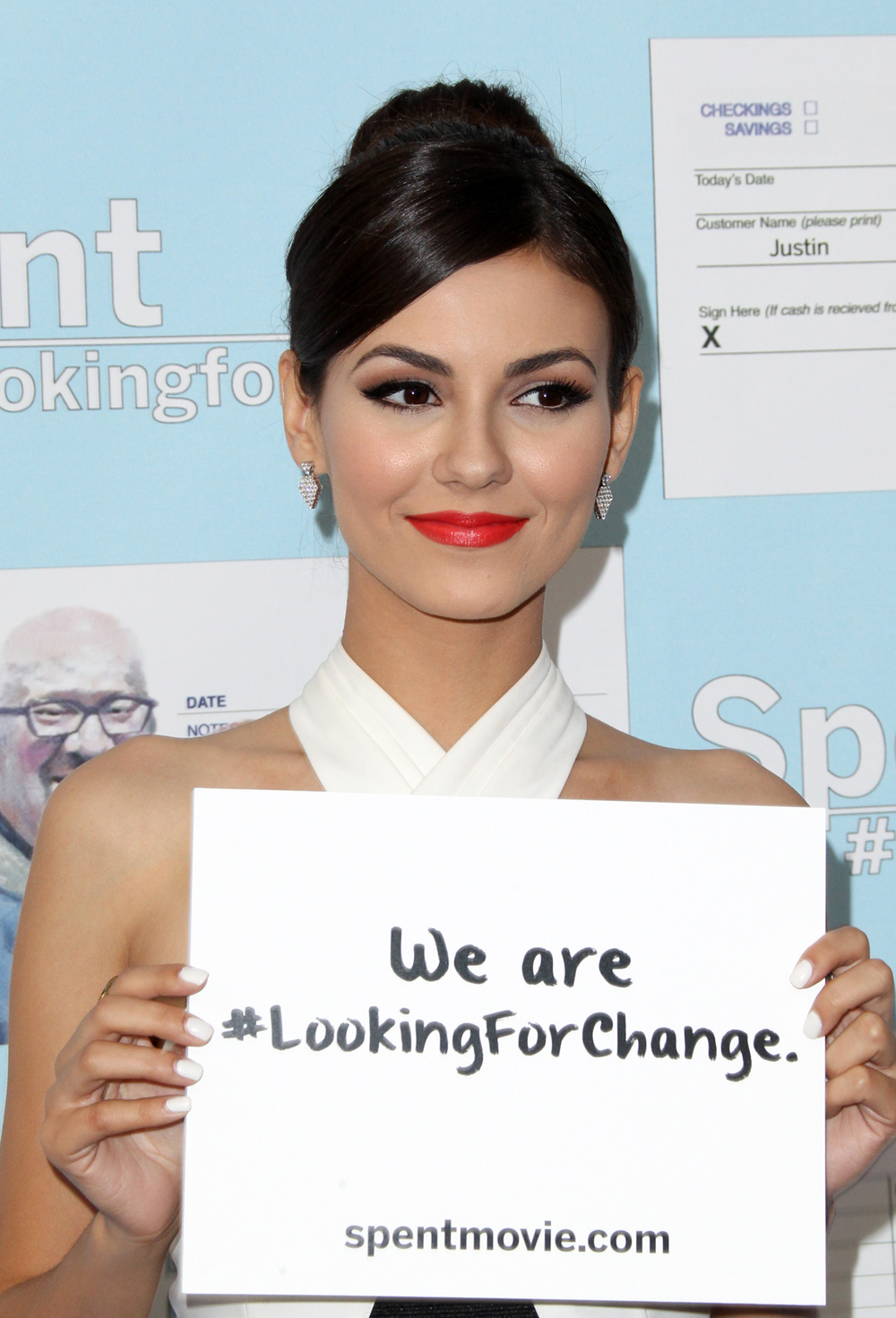 Best makeup/hair combo: Victoria Justice