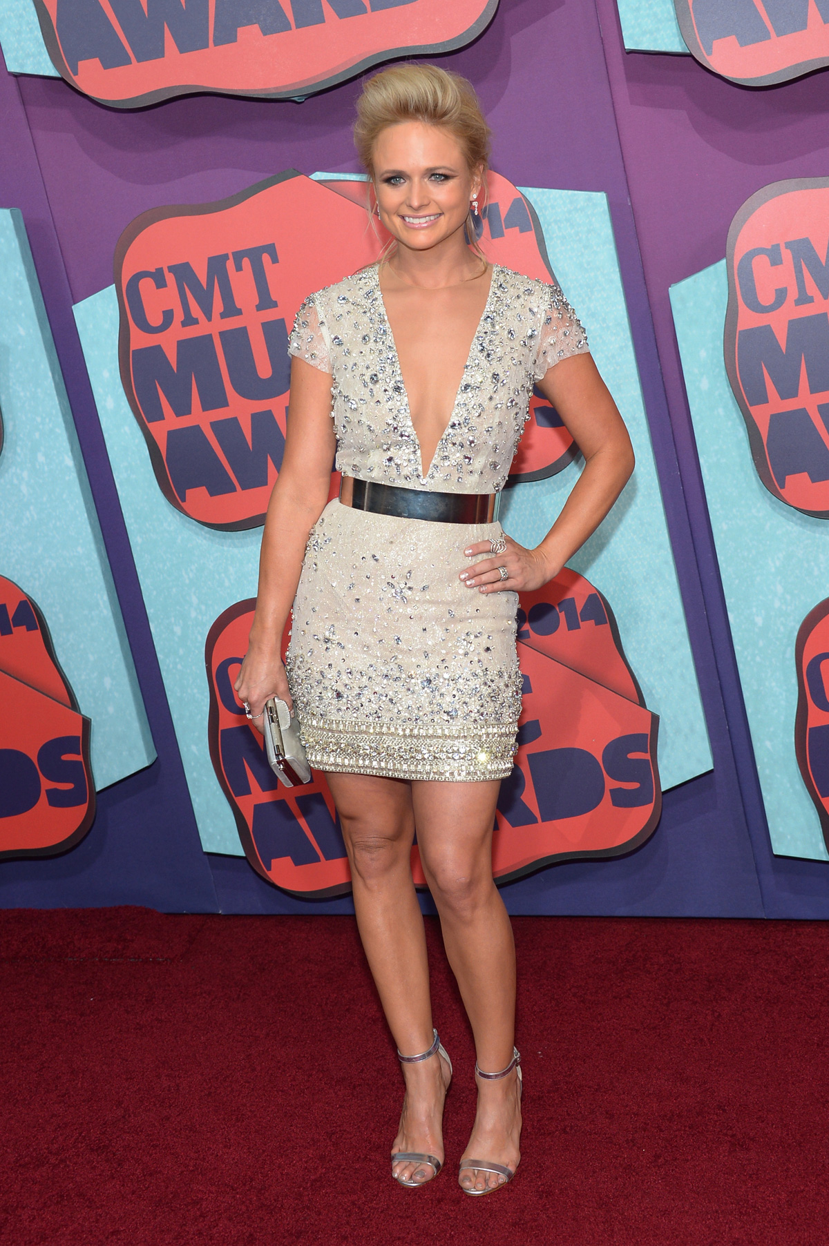 Miranda Lambertat the the 2014 CMT Music Awards