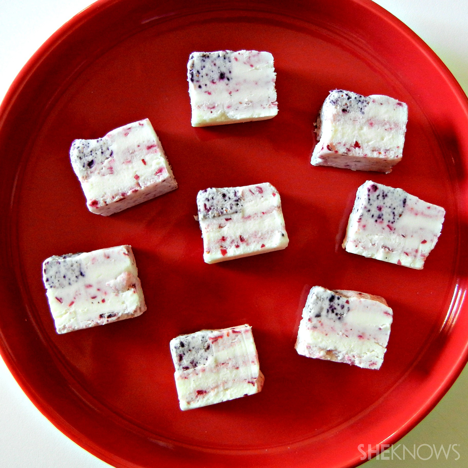 Flag Shaped or Layered Fudge Recipe