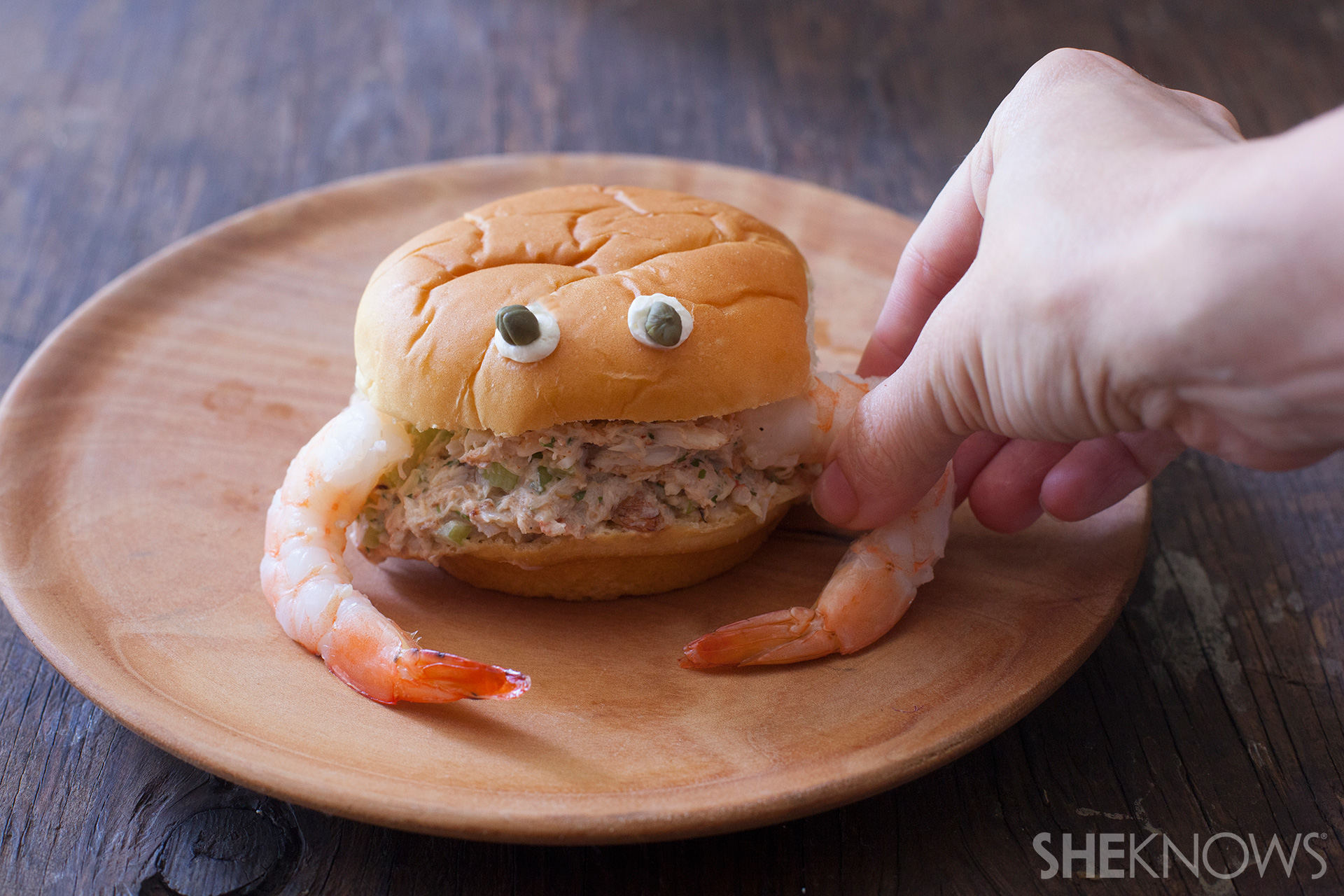 A fun way to introduce seafood to your kids