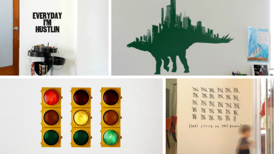 Spruce up your walls with these head-turning wall decals