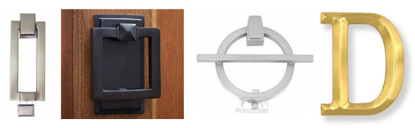 Stylish door knockers