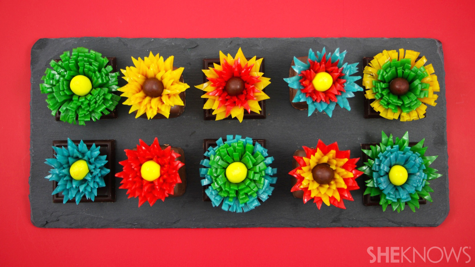 Fantastical Fruit Roll-Ups flowers
