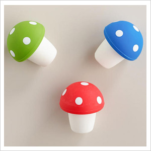 Toadstool toppers