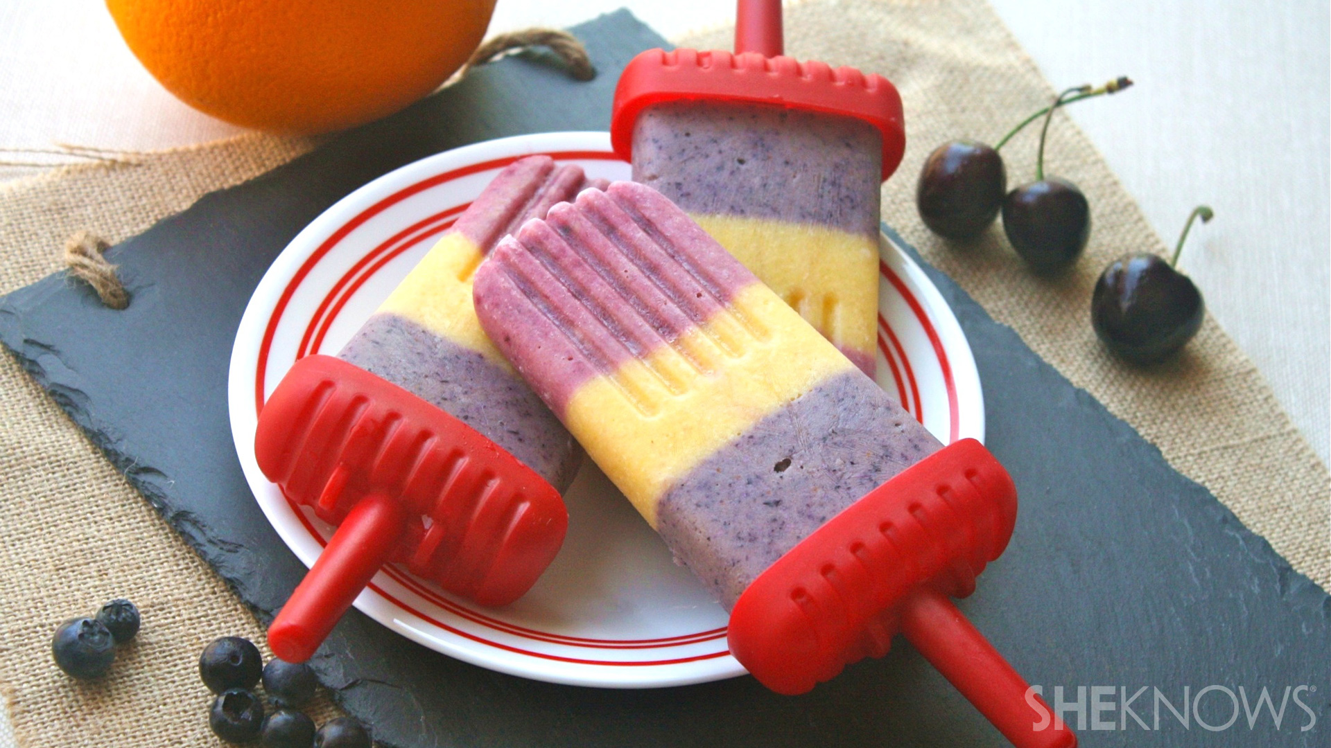 Try a smoothie on a stick for breakfast