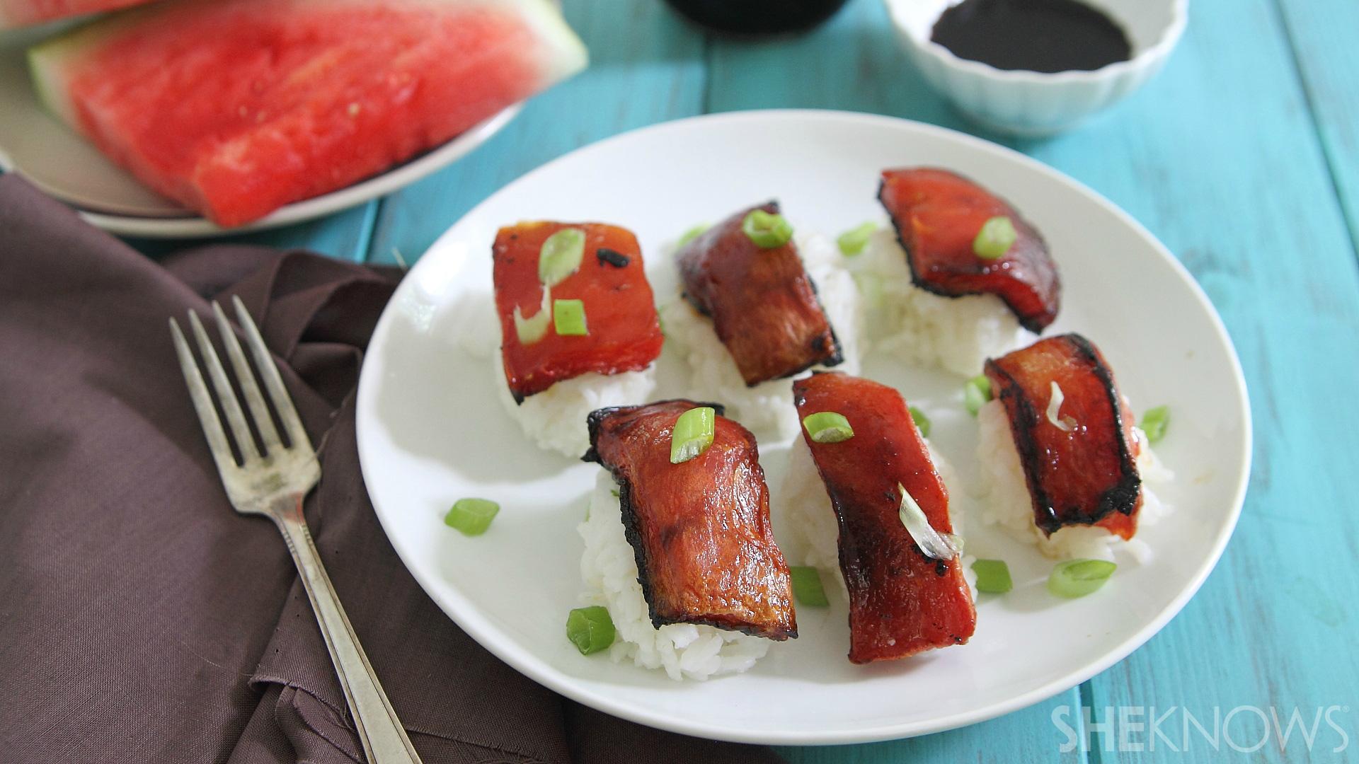 Fish-free sushi