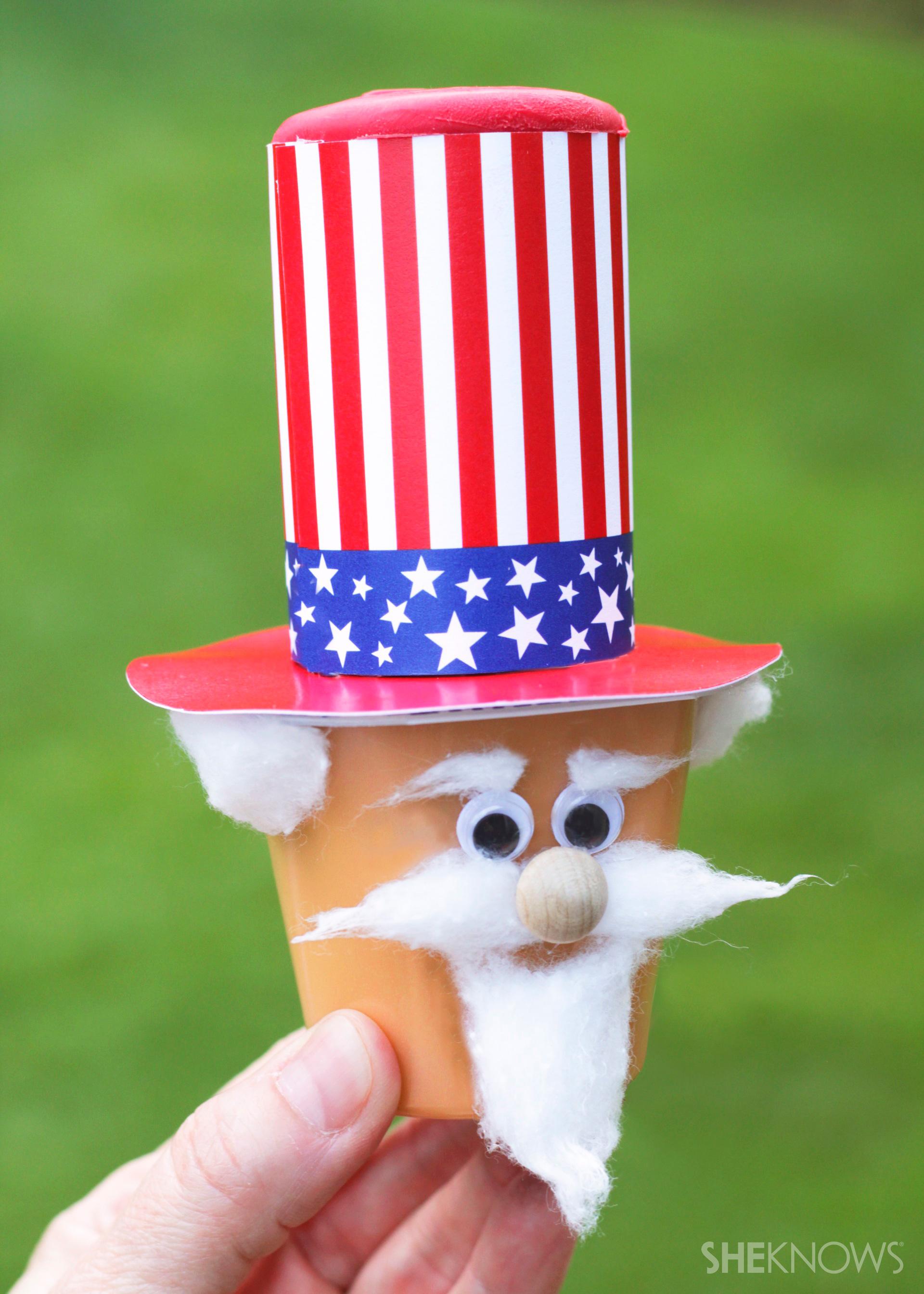 Yankee Doodle dessert cups