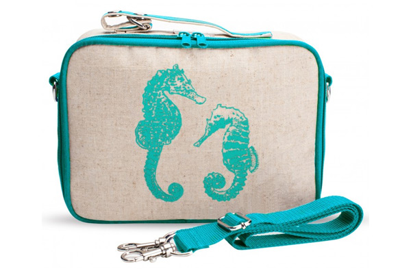 Aqua Seahorses Lunch Box | Sheknows.com