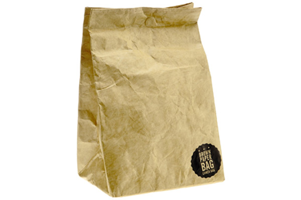 Luckies of London Brown Paper Lunch Bag | Sheknows.com
