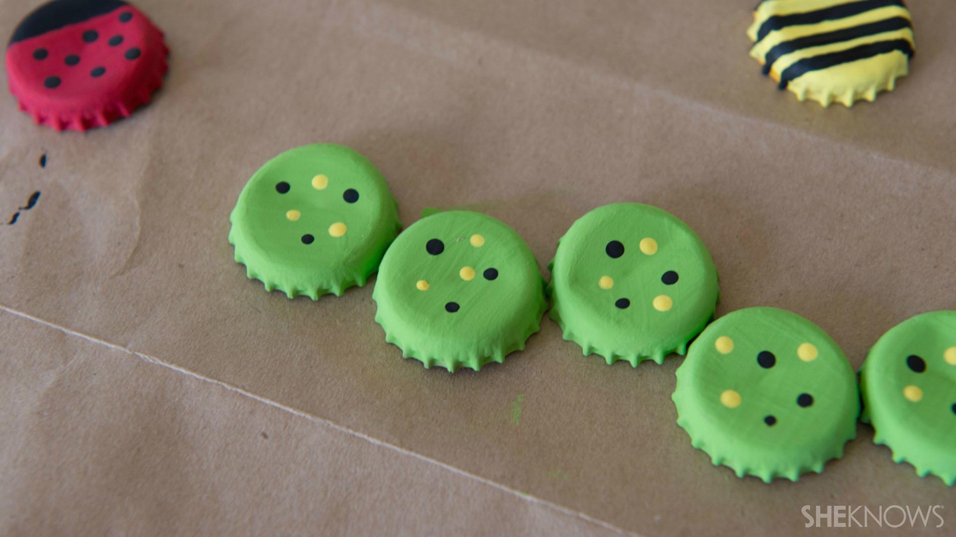 Bottle cap magnets | Sheknows.com - add spots