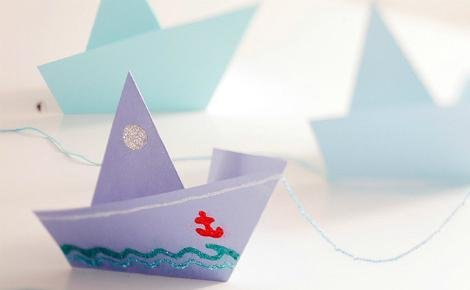 Paper boat craft | Sheknows.com