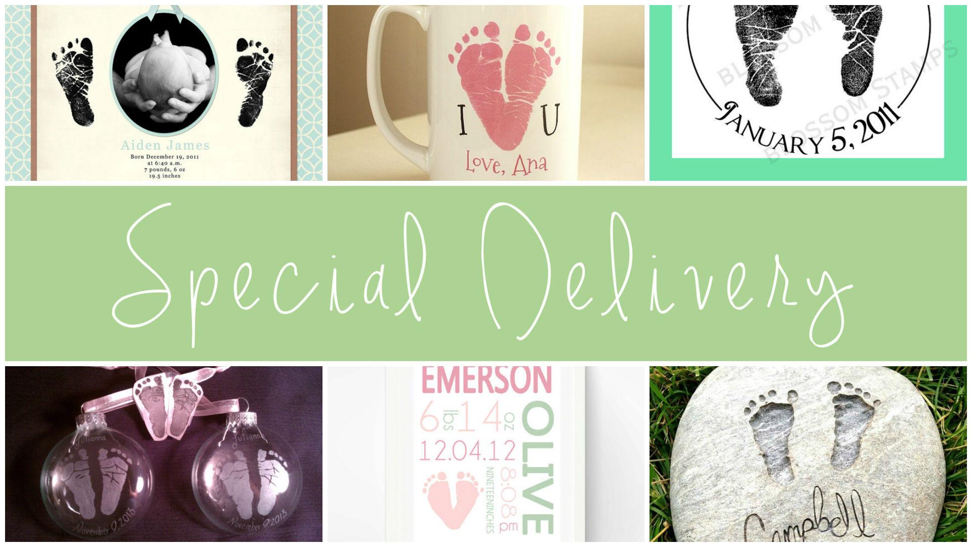 Footprint keepsakes | PregnancyAndBaby.com