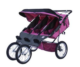 BeBeLove Triple Jogging Stroller | PregnancyAndBaby.com
