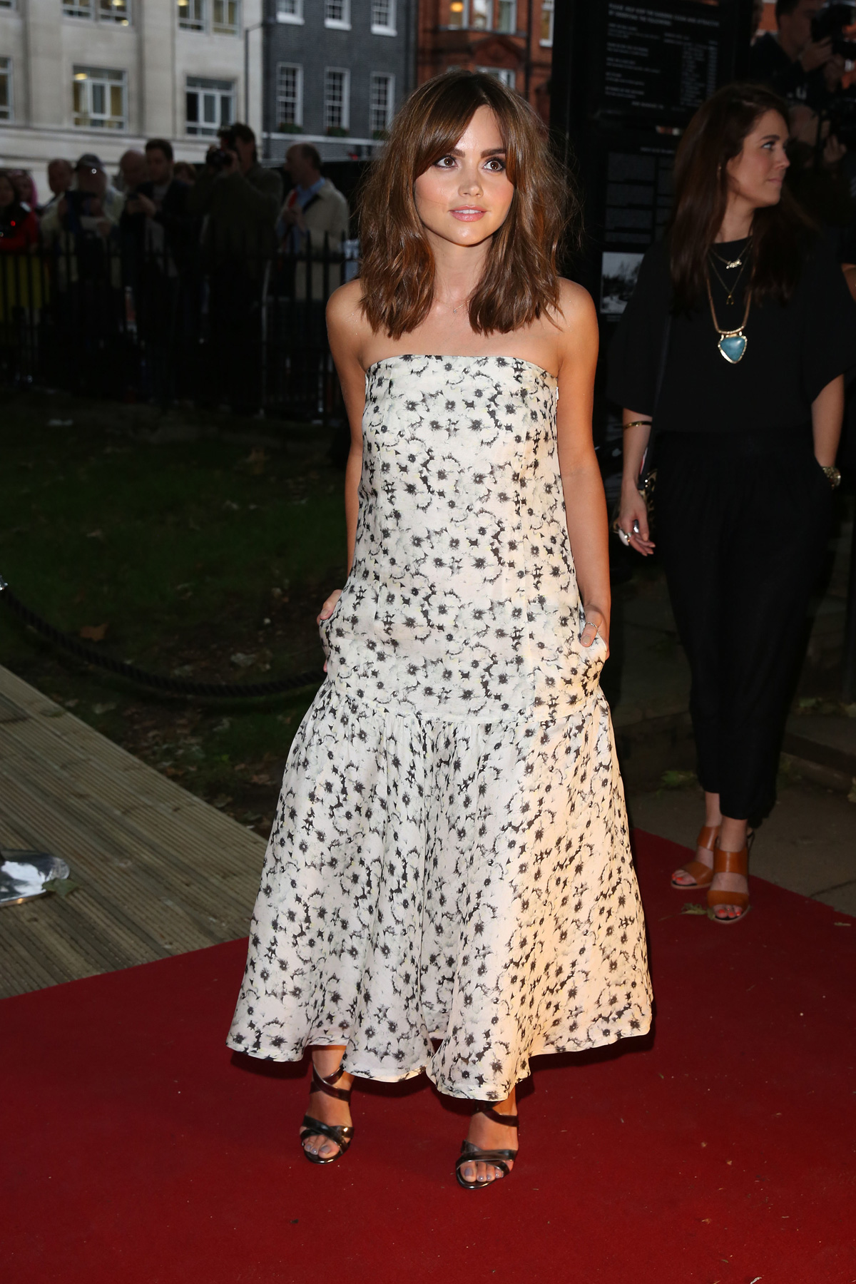 Jenna Coleman at the Glamour Women of the Year Awards