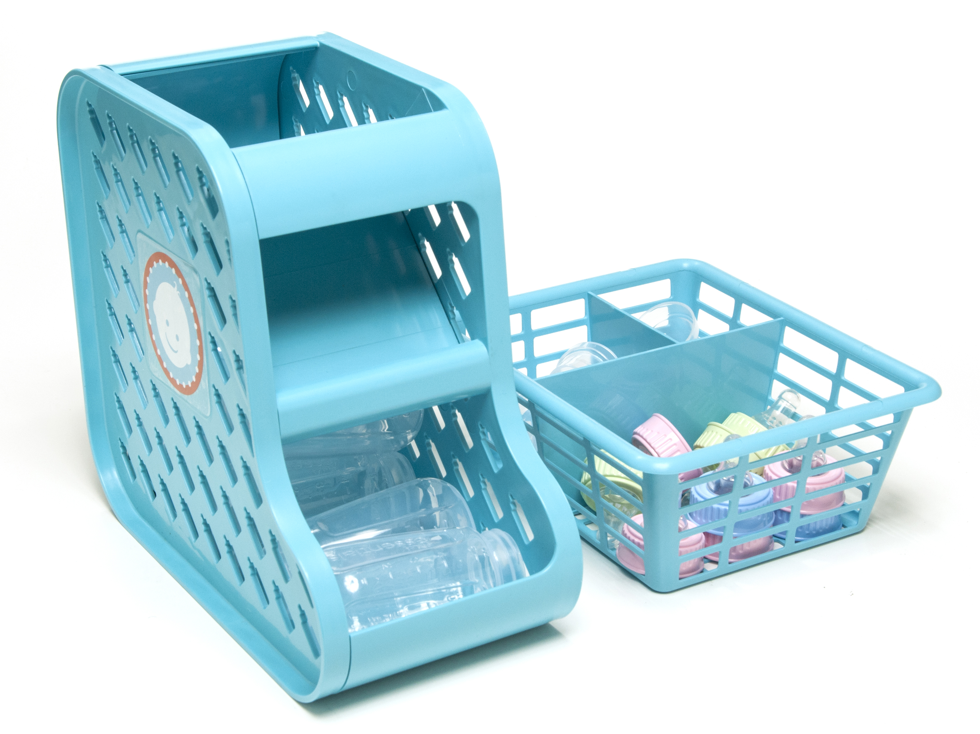 Baby bottle organizer
