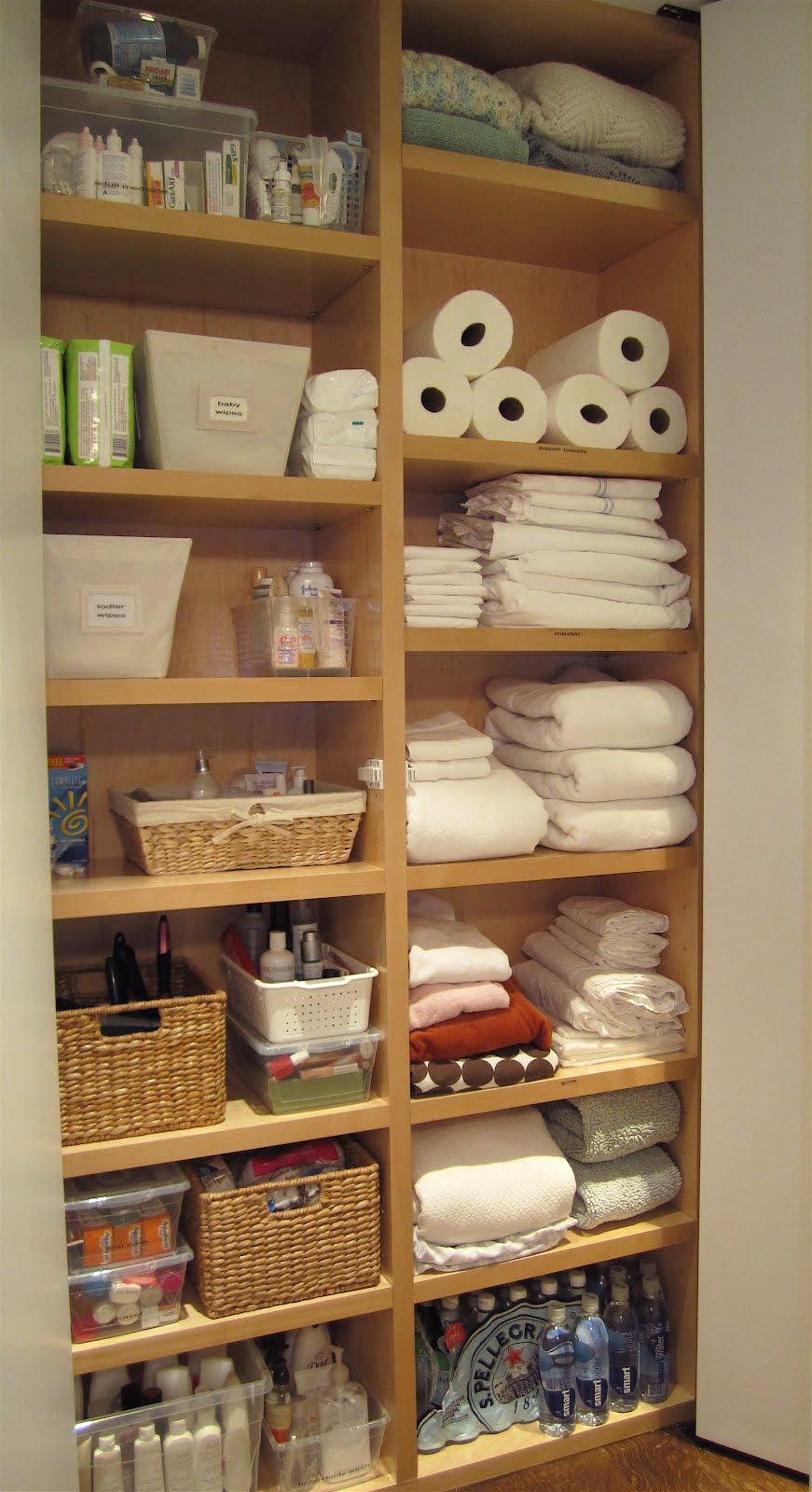 Linen closet love