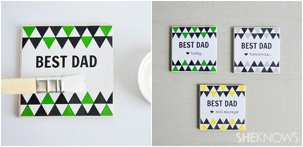 Something special for Dad