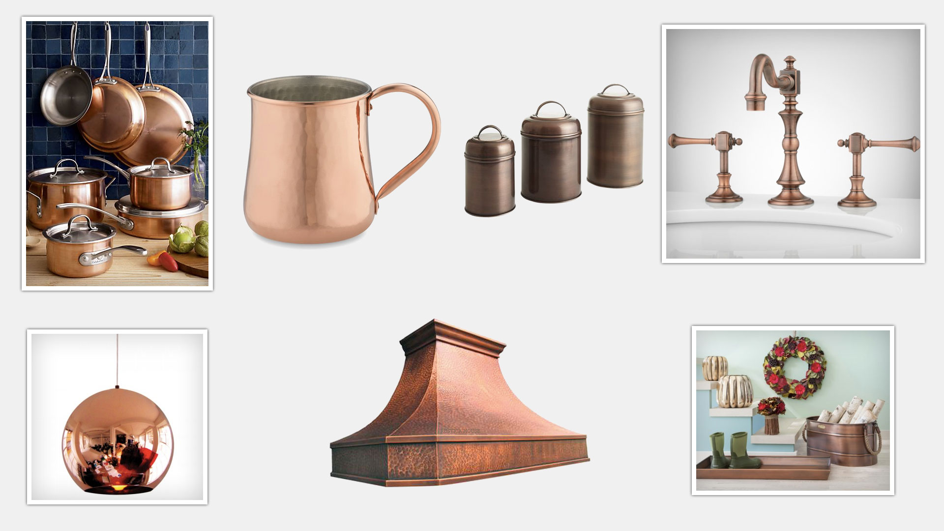 Bye, bye stainless steel. Copper is the new trend in town.
