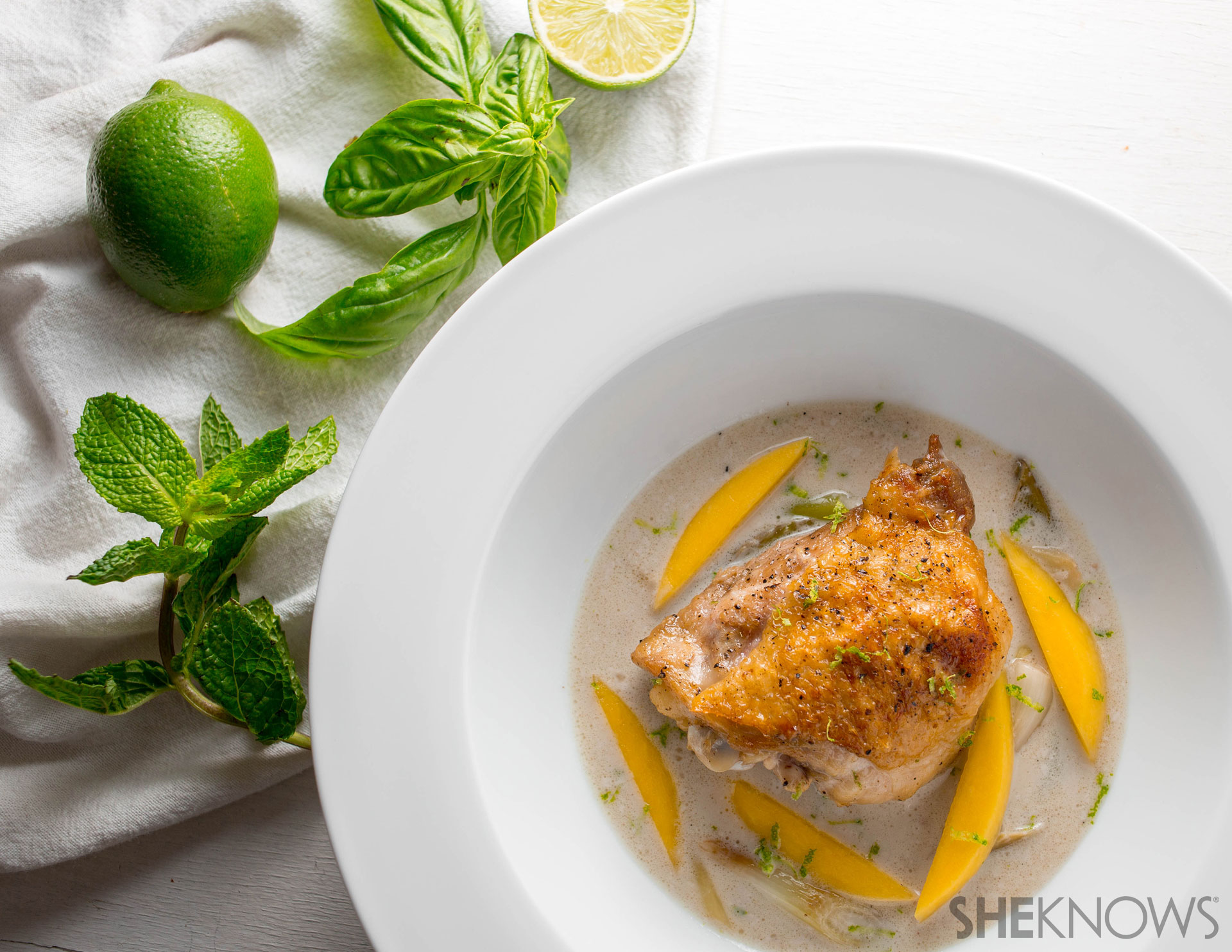 Lime and coconut chicken l SheKnows