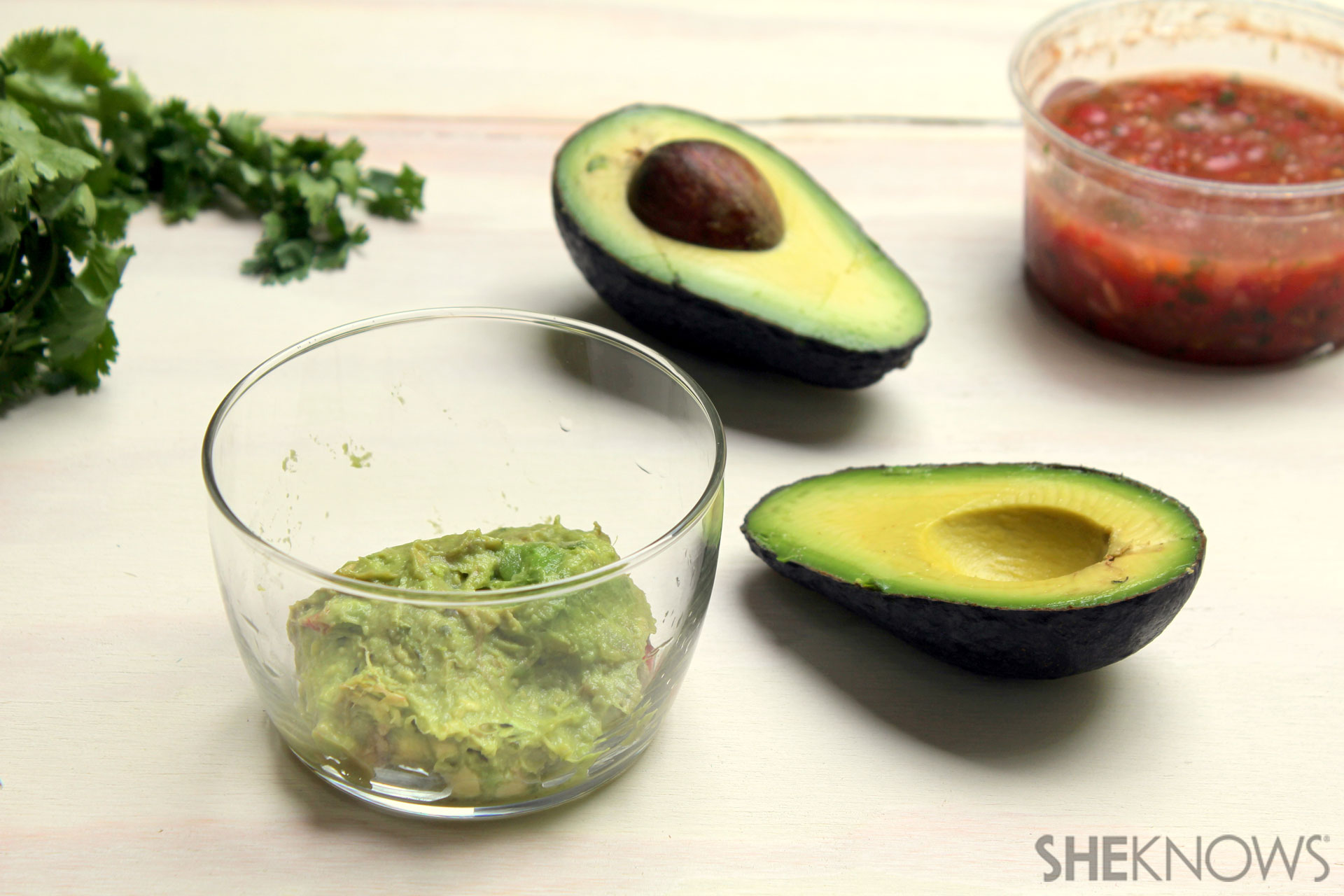 Finally a meal out of guacamole!