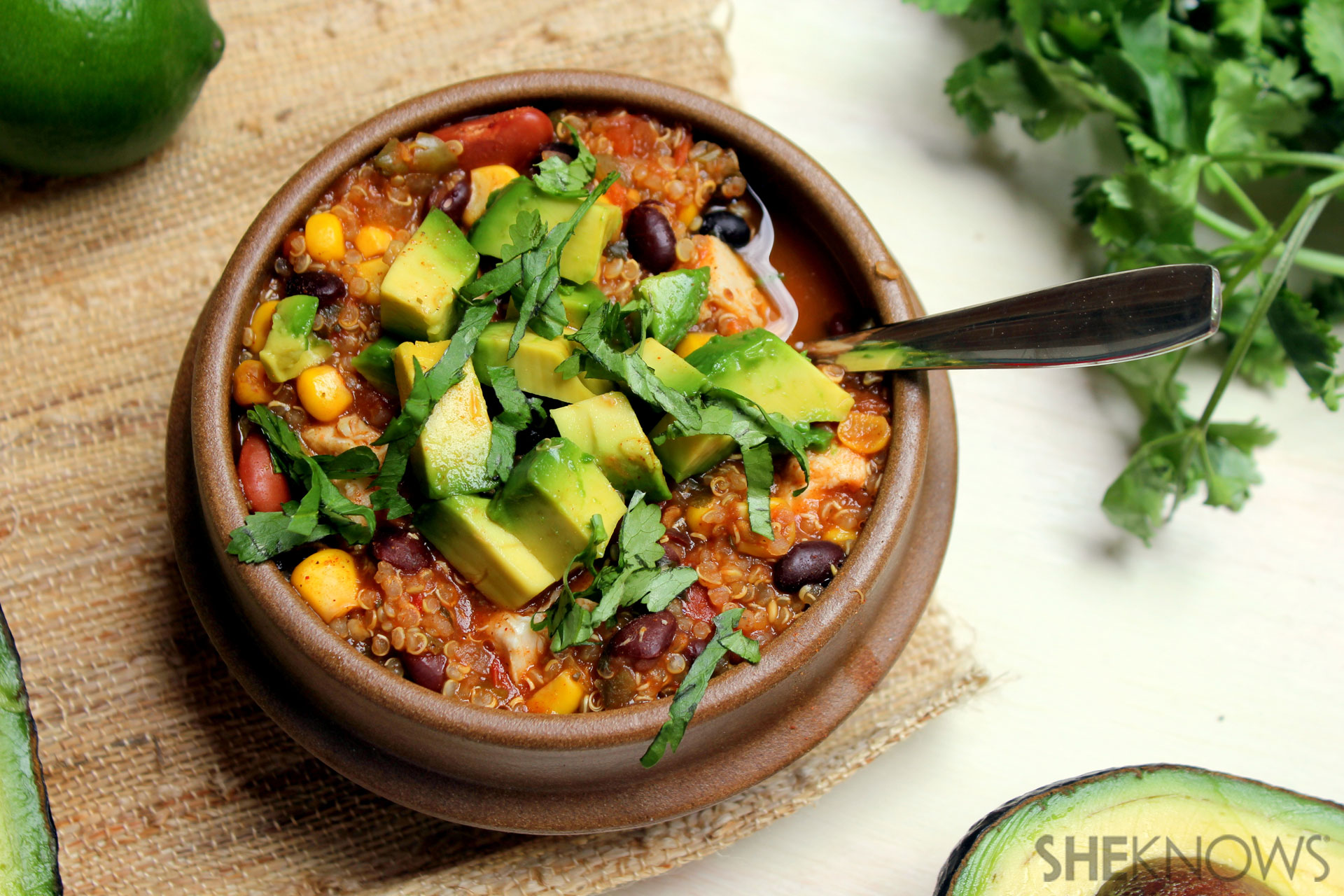Chili recipe in under 30 minutes